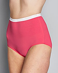 Brights Four Pack Full Fit Slimma Briefs