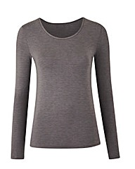 Grey Heatgen Thermal Long Sleeved Top