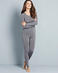 Grey Heatgen Thermal Legging
