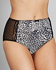 2 Pack Animal Print Midi Briefs