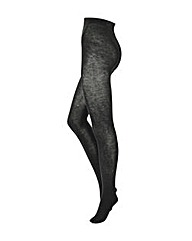 Two Pack Black Supersoft Woolly Tights