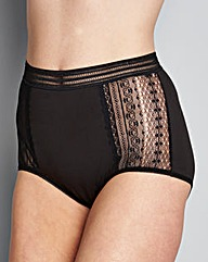 Mono Three Pack Lace Full Fit Brief