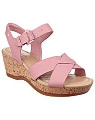 Hush Puppies Eva Farris Wedge Sandals