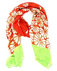 Bright Flower Scarf