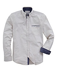 WILLIAMS & BROWN Long-Sleeve Spot Shirt