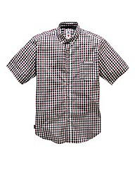 Lambretta Gallows Gingham Shirt Reg