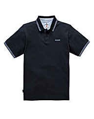 Lambretta Break Navy Polo Long