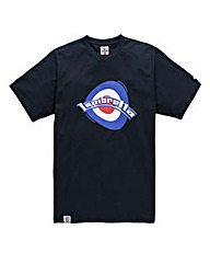 Lambretta Warp Navy T-Shirt Long