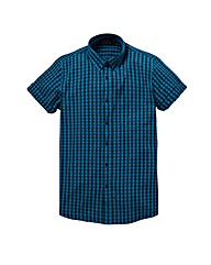 Label J Checker Shirt Long
