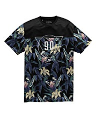 Label J 90 Floral Tee Long