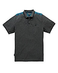 Voi Capsule Charcoal Polo Long