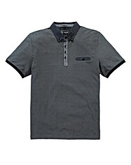Black Label By Jacamo Napoli Polo Long