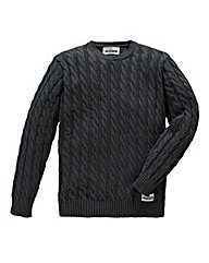 Jacamo Drew Cable Knit Jumper