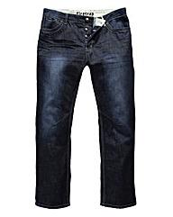 Firetrap Bluegrass Straight Leg Jean 33L