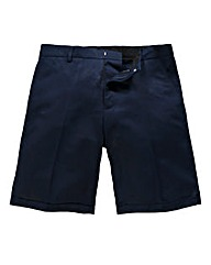 Black Label By Jacamo Linen Mix Shorts