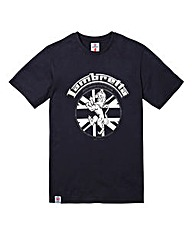 Lambretta Squad Navy T-Shirt Long