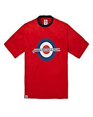 Lambretta Rupert Target Red T-Shirt Reg