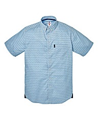 Lambretta Tradition Sky Blue Shirt Long