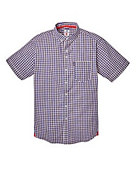 Lambretta Biro Multi Gingham Shirt Long
