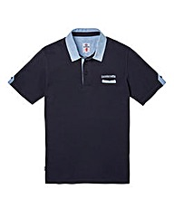 Lambretta Hero Navy Polo Long