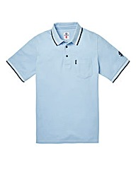 Lambretta Pocket Tip Sky Polo Long