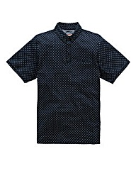 Flintoff by Jacamo Polka Dot Polo R