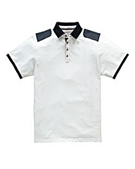 Flintoff by Jacamo Shoulder Panel Polo L