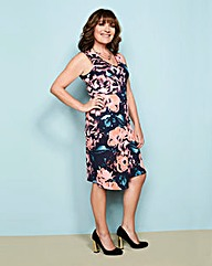 Lorraine Kelly Print Scuba Wrap Dress