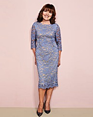 Lorraine Kelly Lace Dress