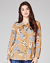 Manon Baptiste By Navabi Pineapple Shirt