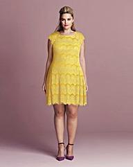 AX Paris Eyelash Lace Dress