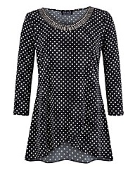 Grace Polka Dot Tunic