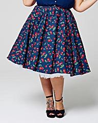 Hell Bunny 1950s April Skirt