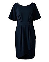Closet Tie Wrap Dress