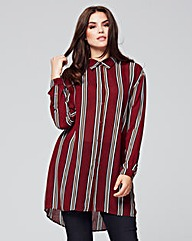 Alice & You Striped Tunic Blouse