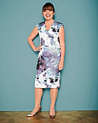 Lorraine Kelly Floral Scuba Dress