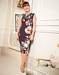 Lorraine Kelly Print Scuba Dress