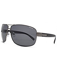 Polaroid Metal Square Sunglasses