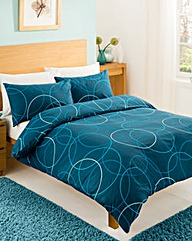 Circles Twin Pack Duvet Cover Set