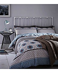 Catherine Lansfield Retro Bands Bedding