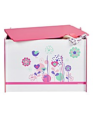 Flowers and Birdies Toy Box