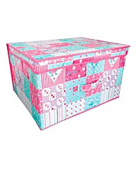 Patchwork Large Storage Chest