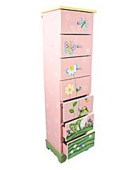Magic Garden 7 Drawer Cabinet