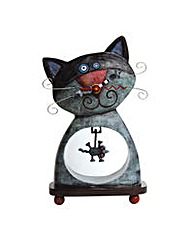 Allen Designs Cat and Mouse Clock