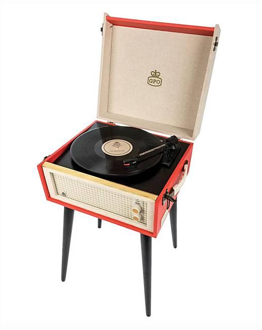 Vintage vinyl player