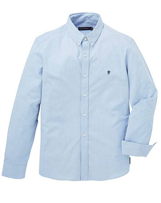 French connection light blu oxford shirt fifty plus for French blue oxford shirt