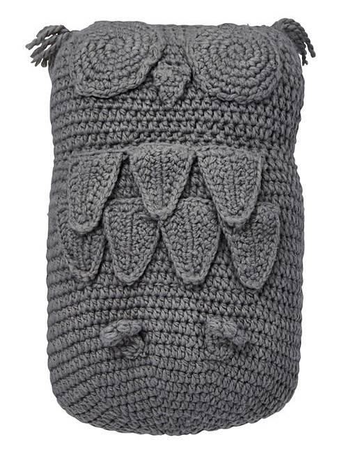Lorraine Kelly Knitted Owl Cushion Fashion World
