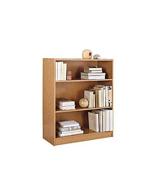 Maine small deep bookcase oak effect fashion world How deep should a bookshelf be