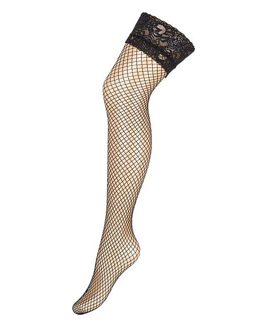 Ann summers lace top fishnet stockings simply be for Simply stockings