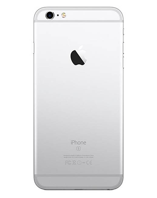 apple iphone 6s plus 64gb silver fifty plus. Black Bedroom Furniture Sets. Home Design Ideas